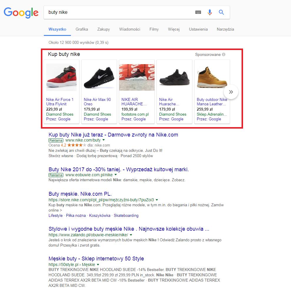 zakupy google ads
